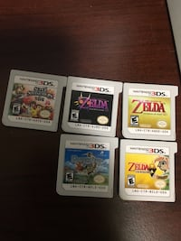 four Nintendo DS game cartridges Regina, S4W