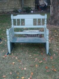 white wooden bench with table Carmichael, 95608