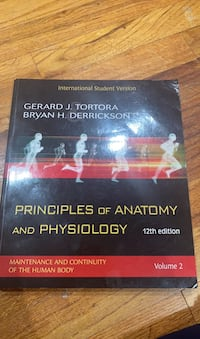 Principles of Anatomy and Physiology Textbook