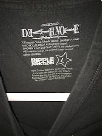 Deathnote shirt Cambridge, N1R 1H5