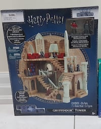 Brand New Harry Potter Nano Metalfigs tower with 2 figurines  Mississauga