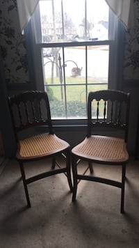 Two antique cane chairs Virginia Beach, 23456