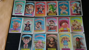 Garbage Pail stickers/cards