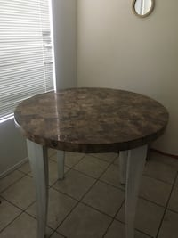 Real marble round table Las Vegas, 89128