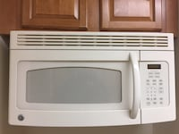 White ge over-the-range microwave oven Palisades Park, 07650