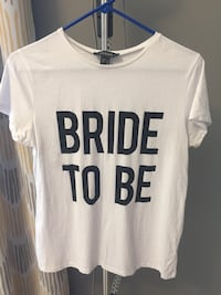 """""""Bride to be"""" t-shirt"""