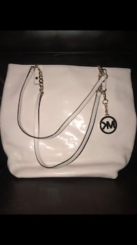 white Michael Kors leather tote bag Springfield, 97478
