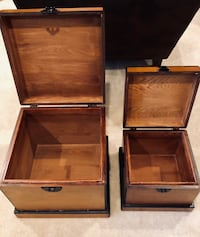 Two hardwood nesting boxes with latch Alexandria, 22312