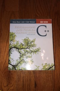 Programming and problem solving with C++ Lorton, 22079