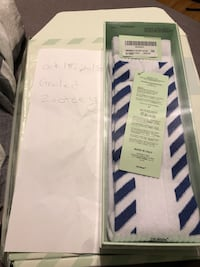 Off White socks. Windsor, N8W 2H9