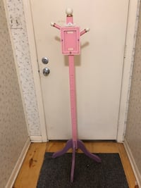 Pink:purple Her Royal Highness coat stand  Park Forest