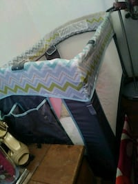 baby's blue and black travel cot Gibsonton, 33534