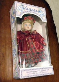 Limited Edition Fine Porcelain Doll  CALGARY