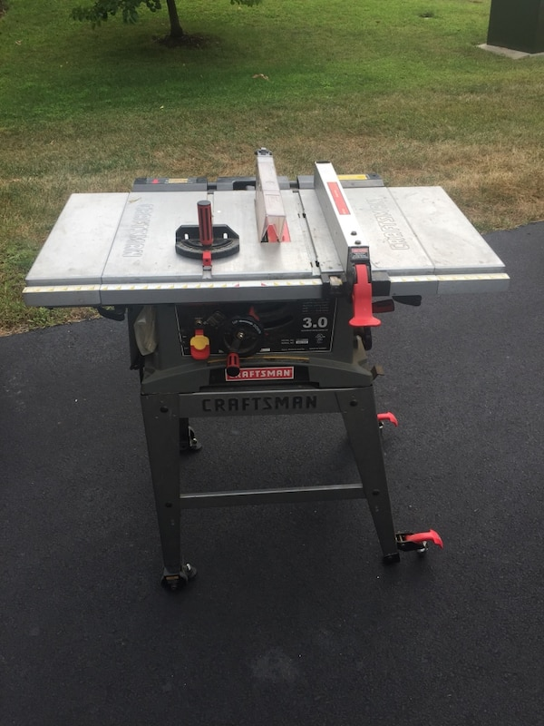 Sears Craftsman 10inch Table Saw with bag