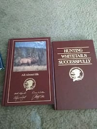 2 books about hunting elk and white tails Las Vegas, 89107