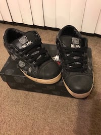 Travis barker dc remix skateboard shoes 8.5 new laces and original box