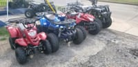 blue and red ATV quad bike ESPAÑOL  Houston, 77055