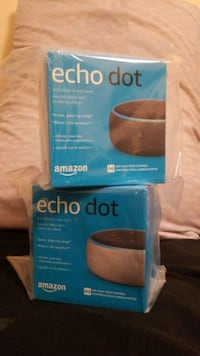 New Echo Dot 3rd Gen (charcoal and/or white) Toronto, M9A