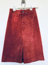 Women's Vintage Gap Suede Skirt