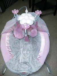 baby's pink and white bouncer Turlock