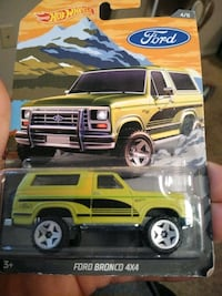 Hot wheels Ford bronco 4 x 4 $2 Lowell, 72745