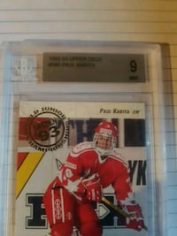 Paul Kariya trading card Whitby, L1R 3H4