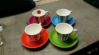 LENOX SET-BRAND NEW (Cups Are 2 1/2 Inches Tall) Clifton