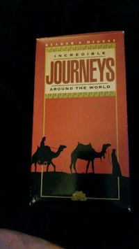 3 VHS SET JOURNEYS AROUND THE WORLD 507 mi