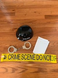 Halloween costume accessories police hat cuffs,  Wesley Chapel, 28104