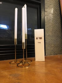 CB2 Roundabout Candle Holders