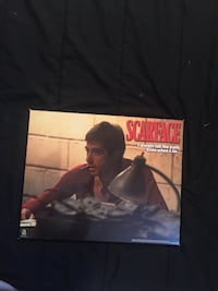 Scarface wooden back Poster Bolton