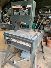 "12"" SEARS CRAFTSMAN BAND SAW (melted face)"