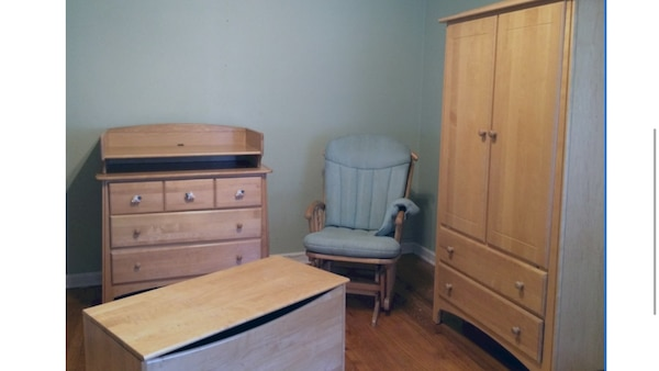 Ragazzi - Furniture set - armoire, dresser w/ changing table, blanket chest  ( solid maple ) bedroom - Child