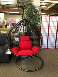 Brand New Swing Egg Hanging Chair $299, No credit check finance available Sacramento, 95818
