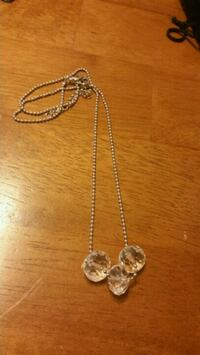 19 inch Ball chain with multifaceted crystals  Yuma, 85364