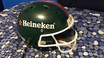 Heineken Full size replica Football Helmet