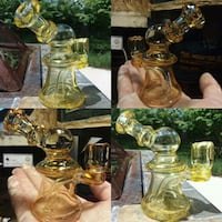 Handmade Cfl Color changing water pipe rig  Kettering