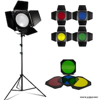 Flash Strobe Barn Doors + 4pc Gels / BRAND NEW / PhotoVideoSpot.ca Toronto