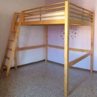 Loft bed solid wood full size Redmond