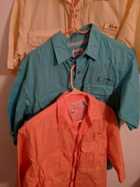 3 world wide sports fishing shirts medium North Fort Myers, 33903