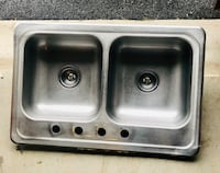 Stainless Shallow Sink York, 17408