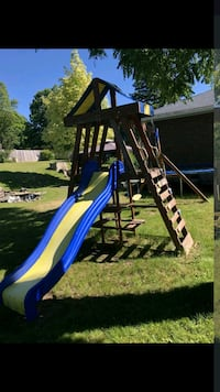 Play structure swing set need gone today can drop  Marmora, K0K 2M0