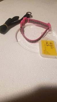 Small dog collars brand new dont know what the black one is for. Frederick