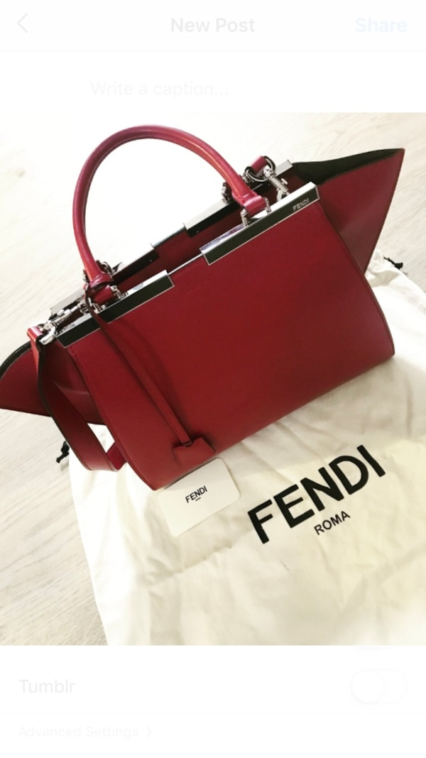 bd3a497c0b87 Used Fendi 3Jours Bag for sale in New York - letgo