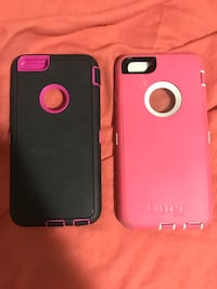 Otter box iPhone plus cases. $10 a piece or $20 all together