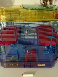 two blue and yellow pet cages McCandless, 15101