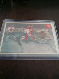 1954/55 PARKHURST DELVECCHIO HOCKEY CARD