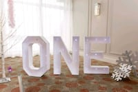 ONE LED Marquee Letters for RENT Vaughan, L4J 8N2