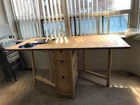 Ikea expandable dining table Mississauga