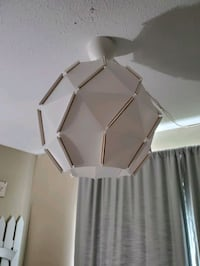 Plastic light fixture